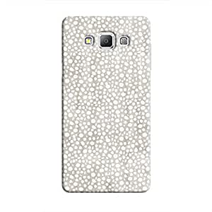Cover It Up - Silver Pebbles Mosaic Galaxy A7 Hard Case