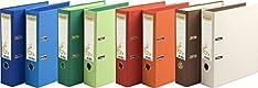 Exacompta 53980E Ordnern (Recycling-Karton 2 Ringe R�cken 80 mm Forever DIN A4) 10er Pack Farben sortiert