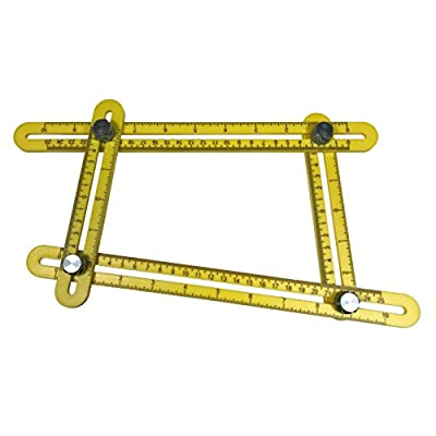 Angle-izer with Metal Knobs - Template Tool for Measuring Various Angles and Forms
