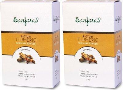 2-x-Banjaras-Pure-Herb-Kasturi-Turmeric-100g