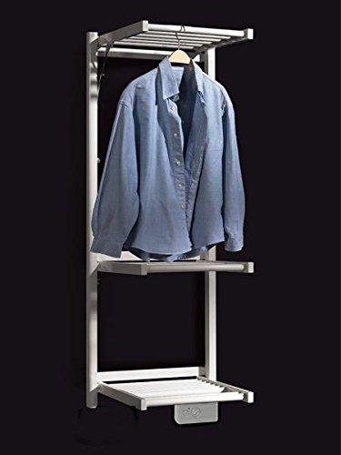 KOH-I-NOOR 44041B - Radiador, calienta toallas y secador de ropa con 3 estantes de difusores extensibles MULTI Eléctrico. Acabado blanco.: Amazon.es: Hogar