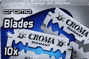 10 Croma Diamant Razor Blades - Create Your Sampler (86 Brands Available)