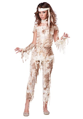 (Teen Mysterious Mummy Costume)