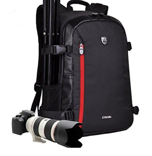 YAAGLE Rucksack Gepäck 700 D wasserdicht SLR Kameratasche Schultertasche Reisetasche-rot