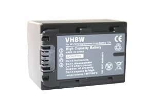 vhbw Li-Ion Akku 950mAh (7.2V) für Kamera Camcorder Video Sony DCR Serie HDR-CX6(EK) wie NP-FH40, NP-FH50, NP-FH70, NP-FH100.