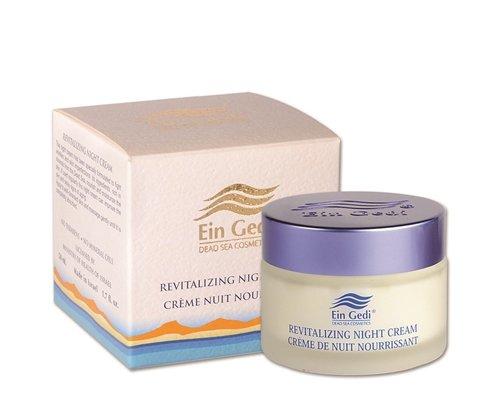 Dead Sea Mineral Night Cream - White - Dead Sea Ein Gedi