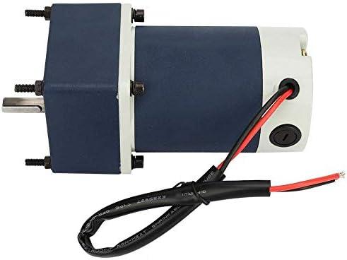 SSY-YU 永久磁石モーター、DC24V 60W調節可能な速度ギヤードモータの高ねじりメタルギアモーター(100,20RPM) 電動工具用