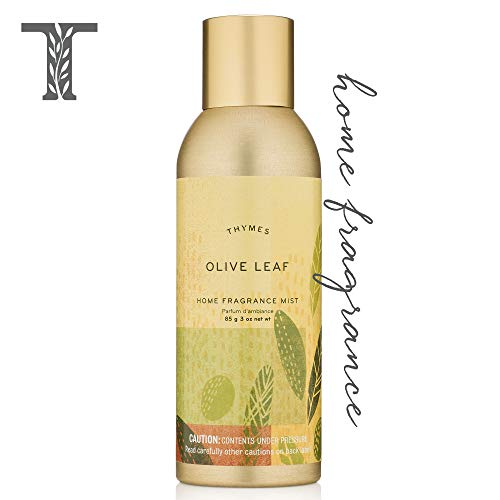 Home Fragrance Mist Leaf - Thymes - Olive Leaf Home Fragrance Mist - Fresh Scented Room Spray - 3 oz