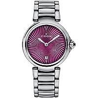 Edox 57002 3M Roin La Passion Analog Purple Dial Women's Watch