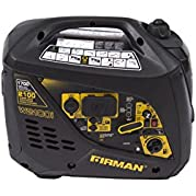 Firman Power Equipment W01781 Gas Powered 1700/2000 Watt (Whisper Series) Extended Run TIme Portable Inverter