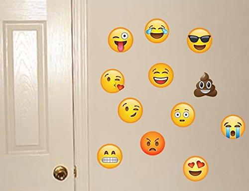 emoji wall decals