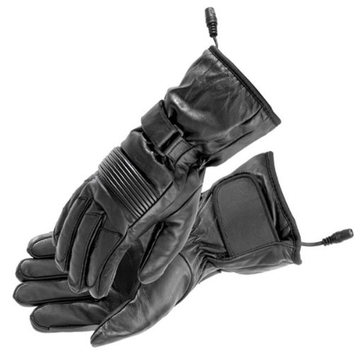 (Firstgear Women's Heated Rider Gloves (SMALL) (BLACK))