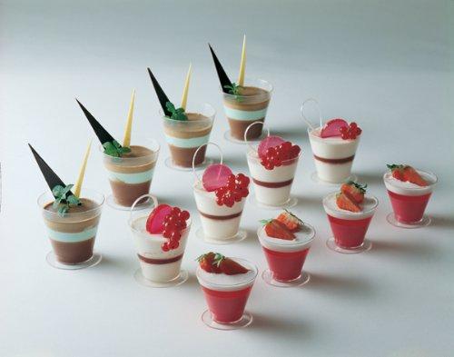 Martellato Pmoco001 Small Plastic Cone Shape Cup For Caterin