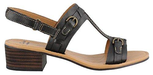 Clarks Women's Reida Madalyn Dress Sandal, Black, 10 M US