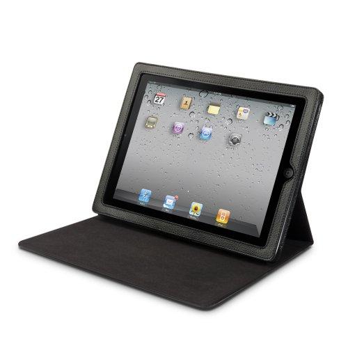 iLuv iCC821 Premium Portfolio Case with Stand for Apple iPad 4, iPad 3, iPad 2 WiFi / 3G Model 16GB, 32GB, 64GB (Black)