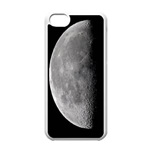 Cases for IPhone 5C, Half Moon Cases for IPhone 5C, Vinceryshop White