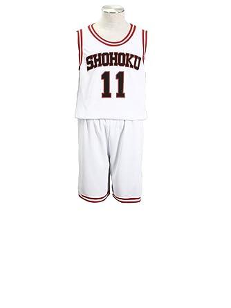 4c553bcaa Mtxc Men s Slam Dunk Cosplay Rukawa Kaede Shohoku High School Basketball  Jersey  11 Kid Size