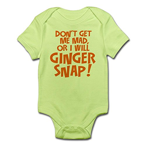 Redhead Infant Diaper (CafePress Ginger Snap Body Suit - Cute Infant Bodysuit Baby Romper)