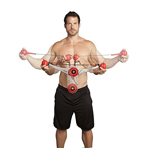OYO DoubleFlex Portable Home Gym for Total Body Workout and Resistance and Strength Training with Exercise DVD for Legs, Arms and Abs