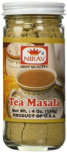 Nirav Tea Masala 4 oz - Ginger, Cinnamon, Cardamom by Nirav