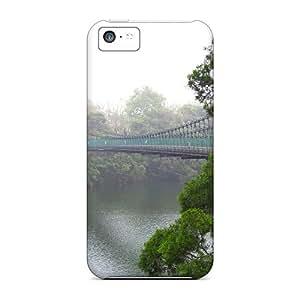 AngelineMS AUNOaRk3092xpTHB Case Cover Skin For Iphone 5c (suspension Bridge)