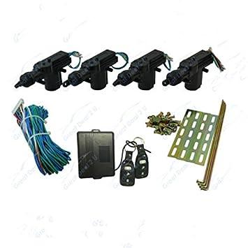 Amazon.com: Eforcar 1set 4 Door Remote Central Lock Kit Retrofit w ...