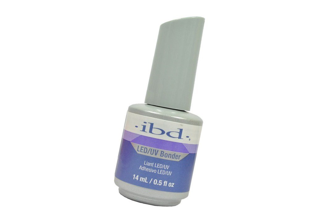 ibd LED/UV Bonder Gel Nail Non Acid Primer Strong Adhesion. Lasting Bond. Odorless. - Size 0.5 Fl.oz USA