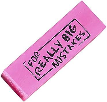 For Big Mistakes Large Eraser