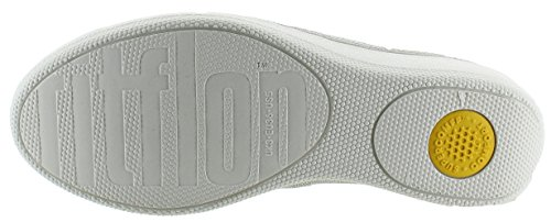 FitFlop Womens SuperSkate Houndstooth Print Suede Loafers Slip-On Cream discount how much 3abybN1E1