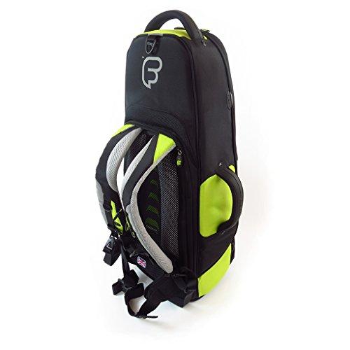 Fusion Premium Series (FB-PW-02-L) - Tenor Saxophone Gig Bag, Black/Lime by Fusion (Image #3)