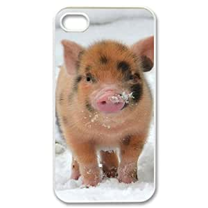 FLYBAI Cute Pig Phone Case For Iphone 4/4s [Pattern-3]