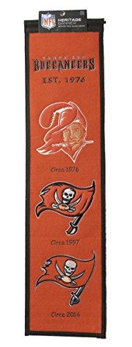 Heritage Wool NFL Authentic Tampa Bay Buccaneers Banner 8