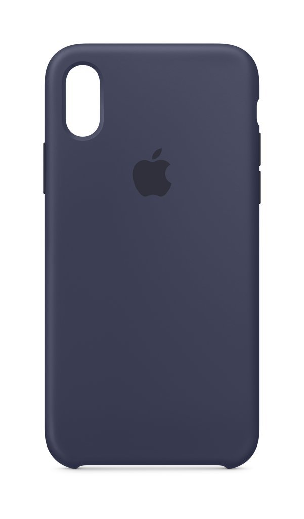 Apple Custodia in silicone (per iPhone X) - Blu notte