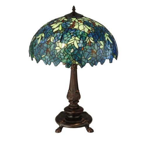 "Meyda Tiffany 124815 Nightfall Wisteria Table Lamp, 26"" H from Meyda Tiffany"