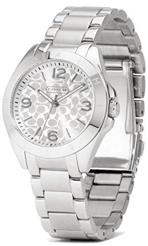 Coach Women's 14501784 Tristen Silver Watch