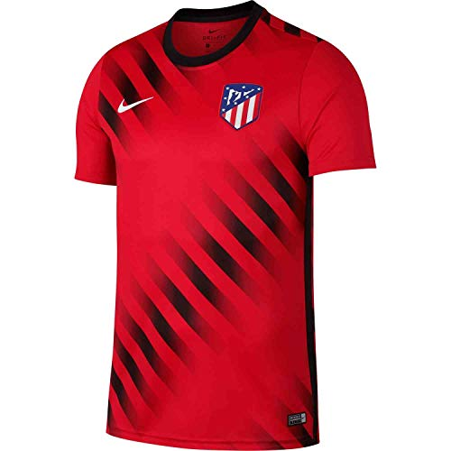 (Nike 2019-2020 Atletico Madrid Pre-Match Training Top (Challenge Red) (S))