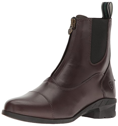 Ariat Womens Heritage IV Zip Paddock Boot, Black, 6 C US Light Brown