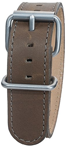 Bertucci DX3 B-9 Montanaro Survival Leather Olive Brown - Bertucci Watch Bands Leather
