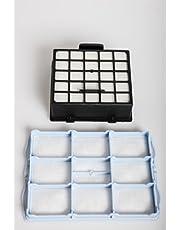 daniplus© zestaw filtrów z filtrem Hepa + filtr silnika pasujący do Bosch BSG6, Siemens VS06 Synchropower