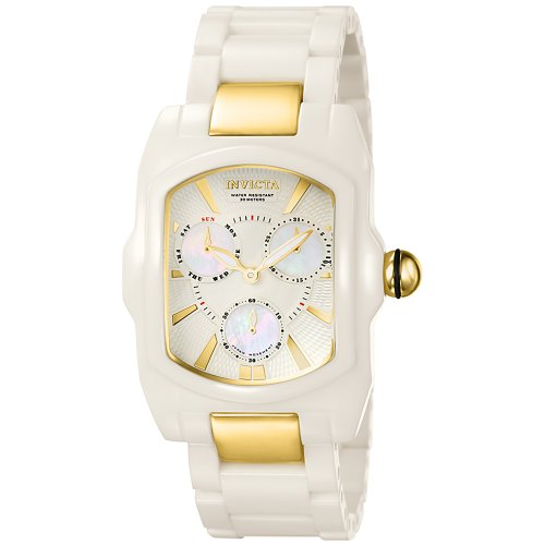 Collection Lupah - Invicta Women's 6301 Lupah Collection White Corian Watch