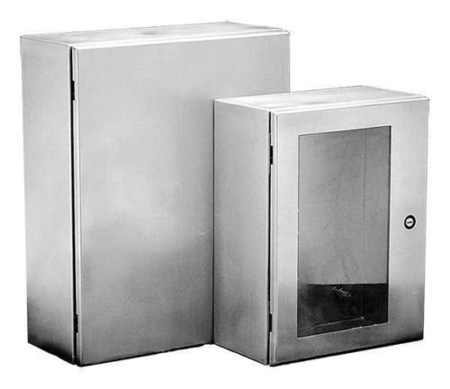 Hoffman CSD20168SS Wall-Mount NEMA 4X Enclosure, Stainless Steel Type 304, 20.00