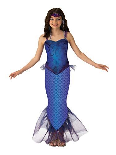 Mermaid Halloween Costumes For Tweens (Rubie's Girls Mysterious Mermaid Costume)
