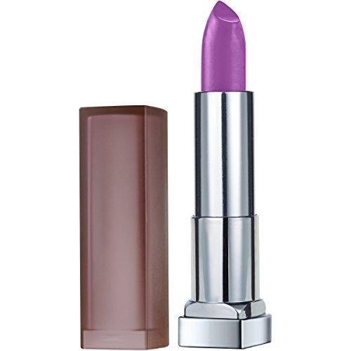 Violet Pure Lipstick (Maybelline Color Sensational Creamy Matte Lipstick, Vibrant Violet, 0.15 oz.)