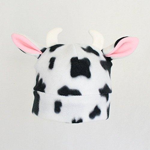 Fleece Cow Hat