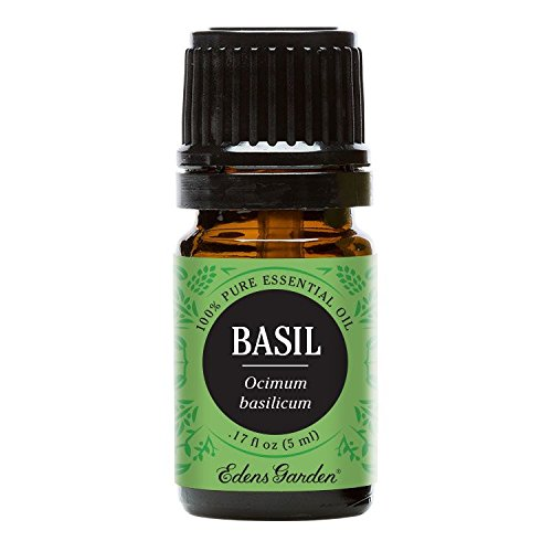 Edens Garden Basil 5 ml 100% Pure Undiluted Therapeutic Grad