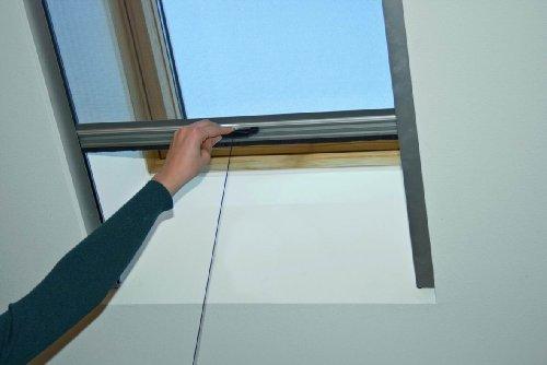 Komplett Neu Schellenberg 50530 Insektenschutz-Rollo für Dachfenster 70 x 160  YX89