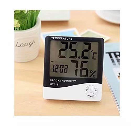 Term/ómetro digital LCD Monitor de temperatura e higr/ómetro