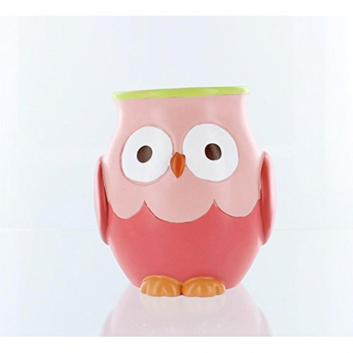 Hooty Bathroom Collection-Colorful Hoot Owl Bath Accessories (Tumbler) by Saturday Knight