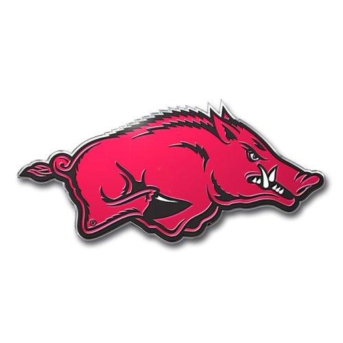 Team ProMark NCAA Arkansas Razorbacks Die Cut Color Auto Emblem - Arkansas Razorbacks Gear