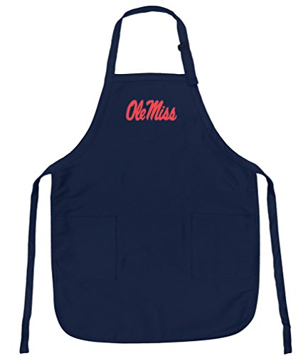 Broad Bay Ole Miss Apron Stain Release University of Mississippi Aprons